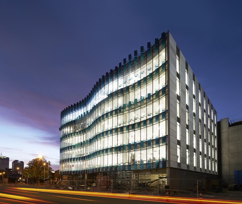 Aurecon 151 cambridge terrace energy project for Terrace building