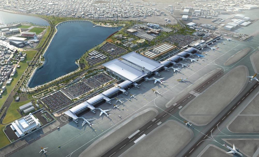 bahrain international airport leed project