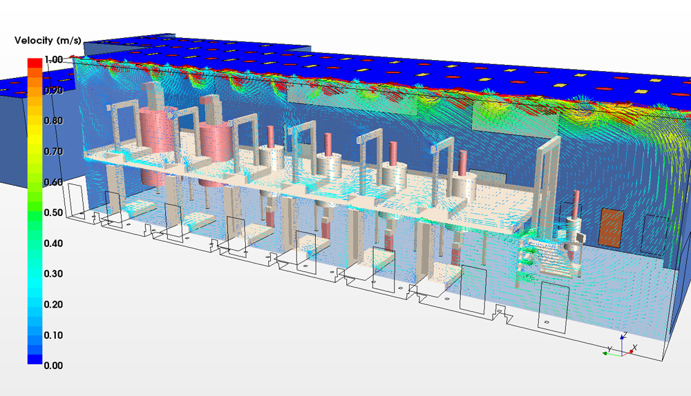 Gsk Cleanrooms Cfd Energy Services Project