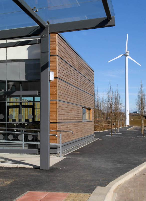 Girvan Community Hospital Energy Services Project