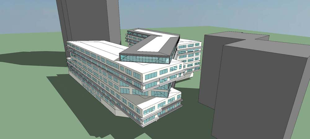Immeuble Bureaux Issy Les Moulineaux Energy Services Project